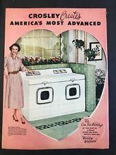 1953 Crosley Washer and Dryer