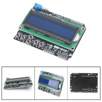 1x 1602 LCD Board Keypad Shield Blue Backlight For Arduino Duemilanove Robot