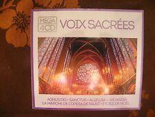 MEGA 4 CD VOIX SACREES / Wagram Music   (2015)  NEUF SOUS BLISTER
