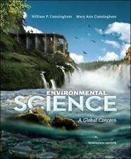 Environmental Science : A Global Concern 13th Int'l Edition