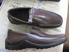 2186813fcea Cole Haan C04059 Tucker Venetian Leather Slip on Loafer in French Roast 10.5