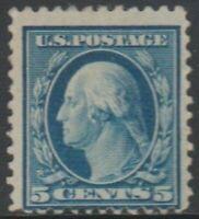 Scott# 504 - Series of 1917-19 - 5 cents Washington