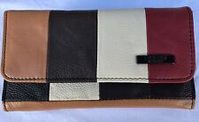 Genuine Real Leather Lorenz Women Purse Wallet Coin Pouch 3844