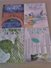 INTERIOR DESIGN MAGAZINE Lot 12 Issues Year Oct 2014 -Sep 2015 & 2 Buyer's Guide