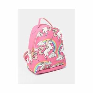 Kids Backpack Unicorn Girls School Nursery Bag