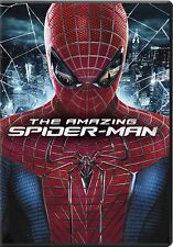 The Amazing Spider-Man (2012) DVD With Andrew Garfield & EMMA Stone