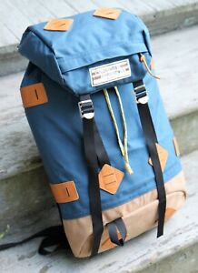 Retro Wilderness Experience Icon Originals Klettersack Leather Bottom Backpack
