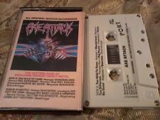 AXE ATTACK Heavy Metal compilation album audio cassette tape NWOBHM POST FREE