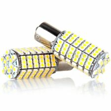 Reverse Tail Lamps Warm White Bright 1156 BA15S 120 SMD LED Light Bulb 5050 Chip
