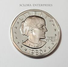 1980 S SUSAN B. ANTHONY (SBA) *PROOF* DOLLAR COIN **FREE SHIPPING**