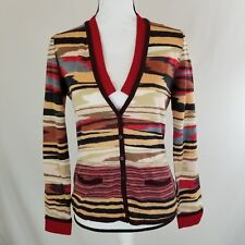 Missoni Womens Cardigan Sweater Size 40 Medium Made In Italy Button Down  o1407 4acbc7c29