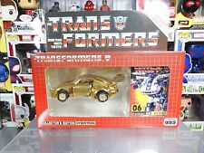 Transformers G1 Takara Reissue Autobot Jazz E-Hobby Gold Color #06