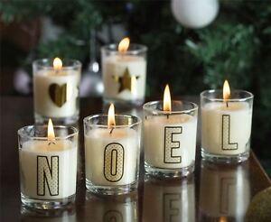 Wax Lyrical Alphabet Collection Fragrances Votive Candles Choose Your Letter