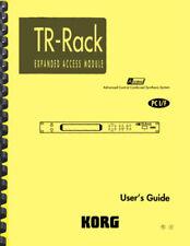 Korg TR Rack USER'S GUIDE
