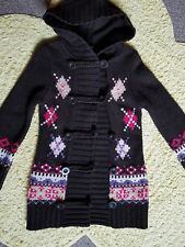 """Girls """"United Colors of Benetton"""" Gorgeous long Cardigan Coat Age 5-6 years"""
