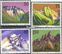 Liechtenstein 974-977 (kompl.Ausg.) gestempelt 1989 Berge