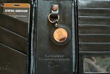 Harley Davidson wallet black leather tri fold 105th anniversary bonus key chain