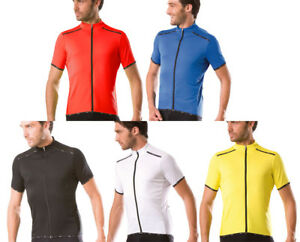 NEW SANTINI PRIMO SHORT SLEEVE RELAXED FIT VENTILATED CYCLING JERSEY - 5 COLOURS