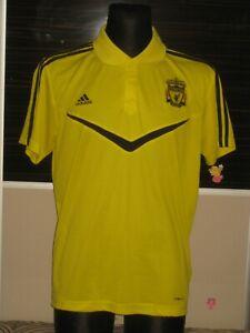 2010-11 Liverpool Polo T-Shirt Adidas (L) Jersey Trikot Camiseta Maglia Maillot