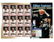 Grenada - 2004 - NBA Allen Iverson - Philadelphia 76ers -Sheet Of 12 - MNH