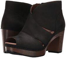 Dansko 162213 Womens Delphina Suede Ankle Bootie Black Size 41 EU/10.5-11 US