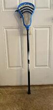 Nike Aero 10° Black/White Lacrosse Stick W/ Royal Blue Blur 10° Head