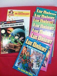 Comic Sammlung Luc Orient - Yoko Tsuno - Franka - 9 Stck.