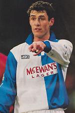 Football Photo>CHRIS SUTTON Blackburn Rovers 1994-95