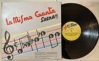 La Misma Gente - Suena LP 1988 Salson Colombia Salsa VG/VG
