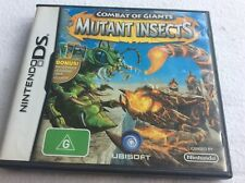 Combat Of Giants- Mutant Insects Nintendo DS