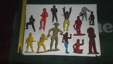 LOTTO SOLDATINI COWBOY INDIANI  TOY SOLDIER VARIE MISURE VINTAGE TOYS
