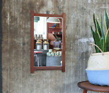60er Teak Wandspiegel Danish Mid-Century 60s Wall Mirror Vintage