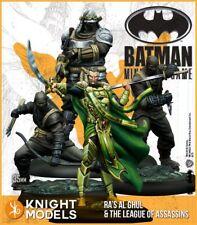RA'S au GHUL and the League of Assassins 35mm Batman miniature Jeu CHEVALIER