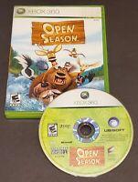 Open Season (Microsoft Xbox 360, 2006) No Manual