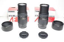 TAMRON 75-300mm Macro lens for Canon EOS 7D T6i T5i 80D 1Ds 70D 5D II III 6D etc