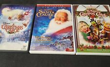 Disney Christmas Dvd Lot A Christmas Carol Santa Clause 2 & Muppet Christmas S1