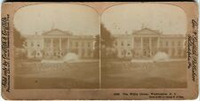Stereophoto. Weißes Haus Washington, von 1903