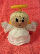 KNITTING PATTERN - Christmas Guardian Angel chocolate orange cover or 15 cms toy