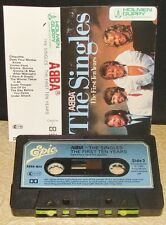 ABBA     - THE SINGLES - THE FIRST TEN YEARS -                     Cassette Tape