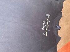 Curves Womens Fitness 100% Cotton Black T-Shirt Size Large L