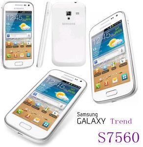 "Samsung Galaxy Trend S7560 Original 4.0"" Unlocked Wifi 5MP Android 2GB"