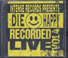 Die Happy-Intense Live Series Volume 4 CD Christian Metal Vengeance Rising (NEW)