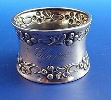 Vintage Holly Napkin Rings