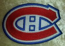 "Montreal Canadiens NHL Logo 3.25"" Iron On Embroidered Patch ~USA Seller~"