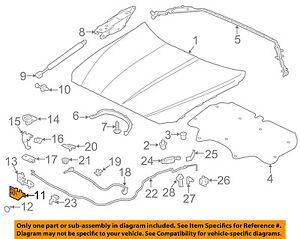 JAGUAR OEM 16-17 XF HOOD-Latch Assembly JDE36371