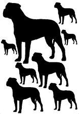 Bullmastiff Vinile Adesivi/Decalcomanie Per Auto/Finestrino Decalcomanie