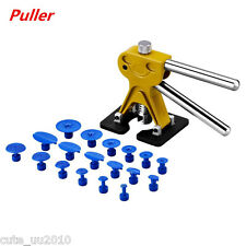 Auto Car Body Panel Paintless Dent Removal Repair Tool Puller 18 Tabs Yellow New