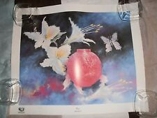 """Vintage L.E. 136/250 Print ~ """"Ruby"""" by John Kelly Comes With COA 23"""" X 19"""""""