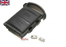 NEW 2 Button Remote Key Fob Case Repair Kit For Vauxhall Opel Corsa Agila Meriva