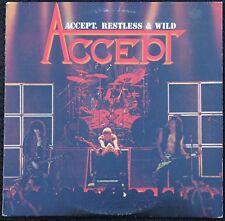 ACCEPT: Restless & Wild LP (Portrait BFR 39213, 1983) Heavy Metal